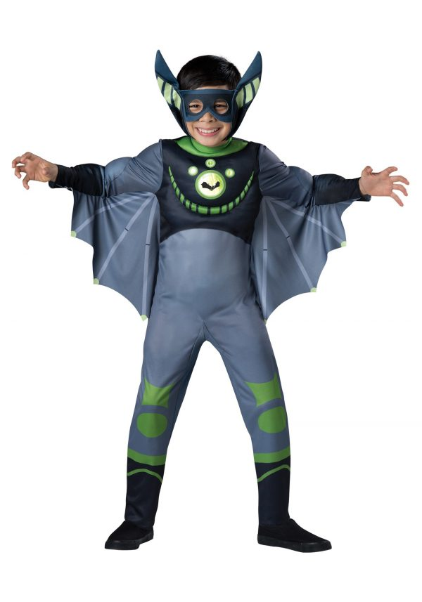 Wild Kratts Green Bat Costume