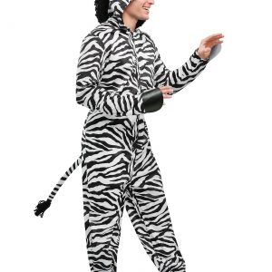 Wild Zebra Adult Costume