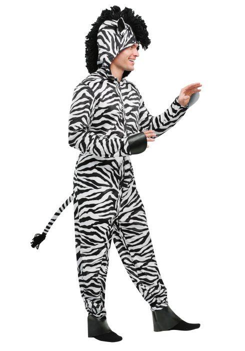 Wild Zebra Adult Costume