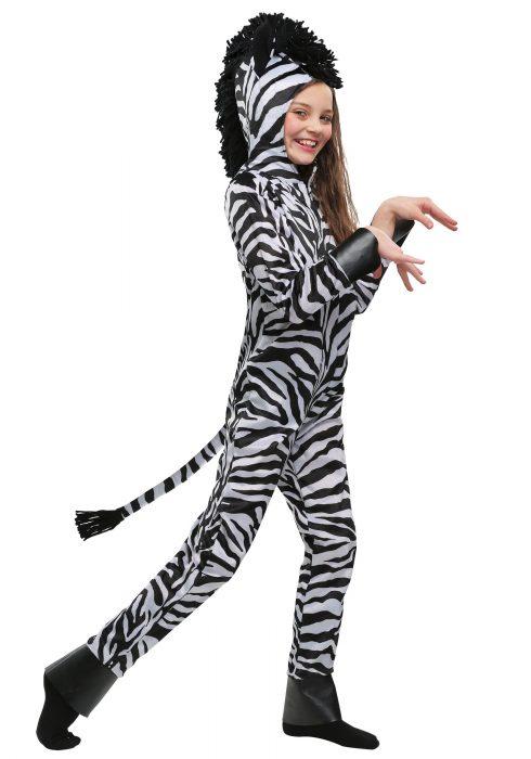 Wild Zebra Kids Costume