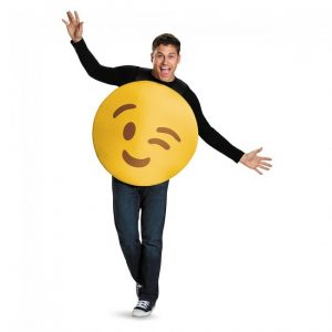 Wink Emoticon Costume