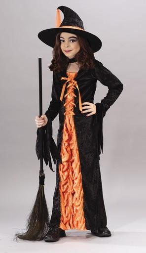 Witch Orange Mystic Costume