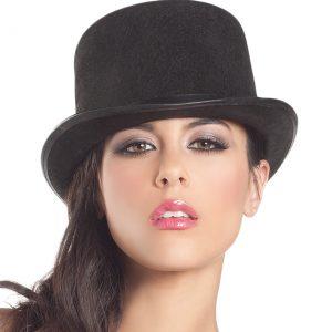 Woman's Felt Top Hat