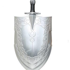 Woman's Sword & Shield