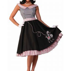 Women's 50s Checkered Cutie Costume