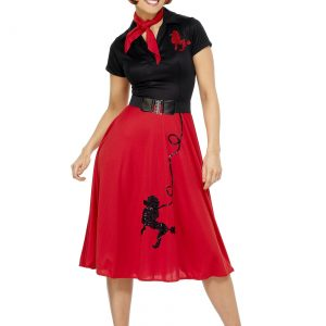 Womens 50s Style Poodle Costume
