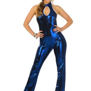 Womens 70's Disco Fever Jumpsuit