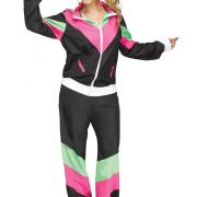 Women's 80's Track Suit Plus Size Costume