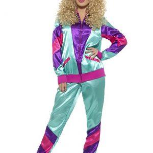 Women's 80's Tracksuit Costume