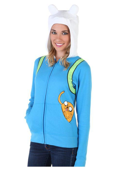 Women's Adventure Time Jake Pocket Hoodie