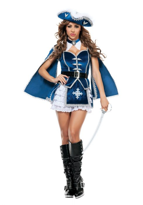 Women's All For You Musketeer Costume