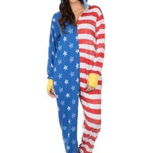 Women's American Flag Wonder Woman Lounger