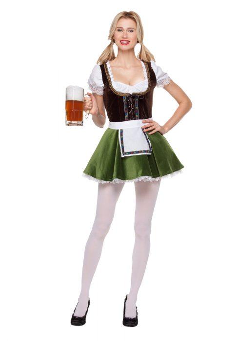 Women's Bavarian Girl Costume
