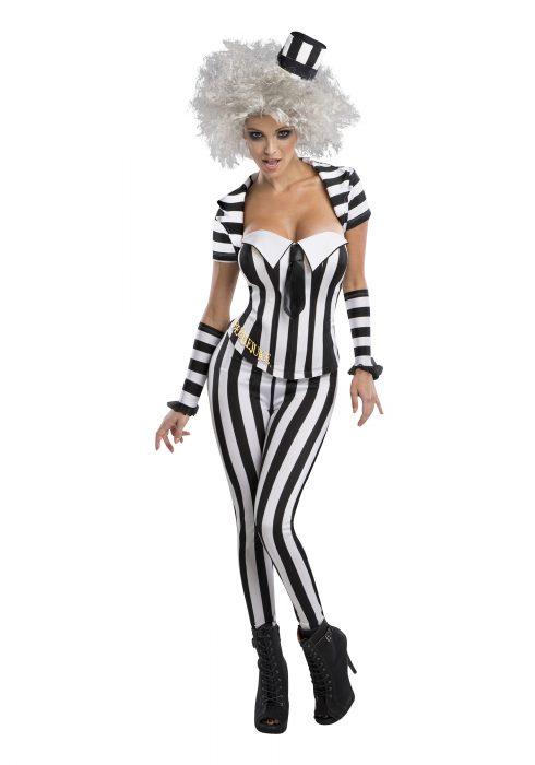 Women's Beetlejuice Corset Costume