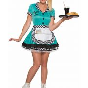 Women's Betty Lou Carhop Costume