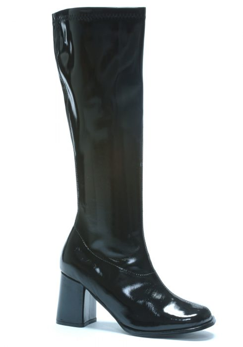 Womens Black Gogo Boots