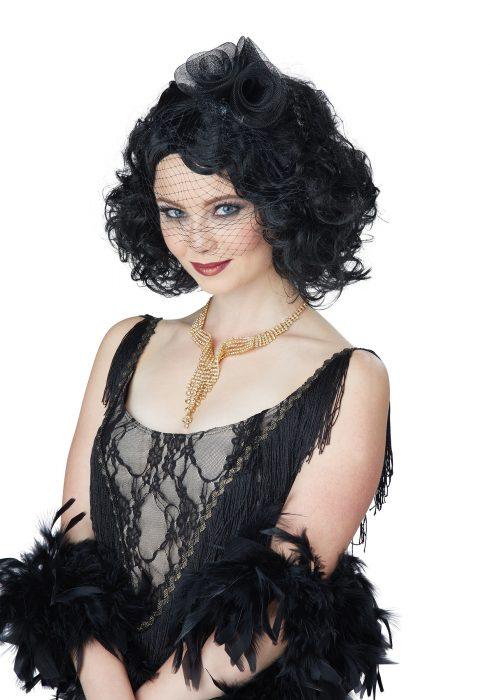 Women's Black Savoir Faire Wig