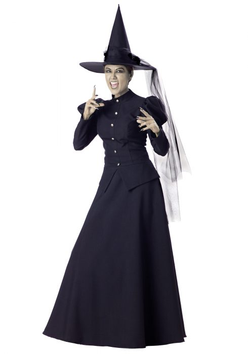 Women's Black Witch Costume