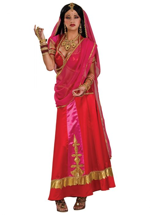 Women's Bollywood Beauty Costume