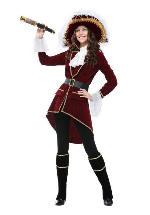 Women's Captain Hook Costume
