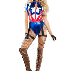 Women's Captain USA Costume