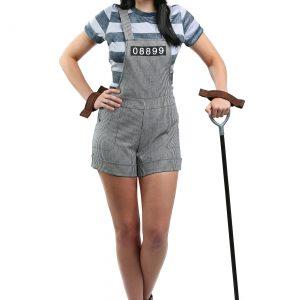 Women's Chain Gang Prisoner Costume