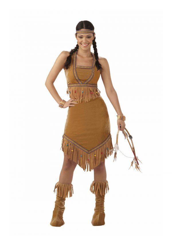 Women's Cherokee Cutie Costume