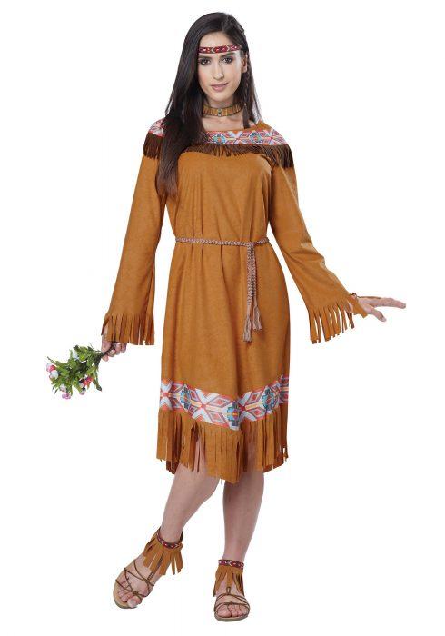 Women's Classic Indian Maiden Costume