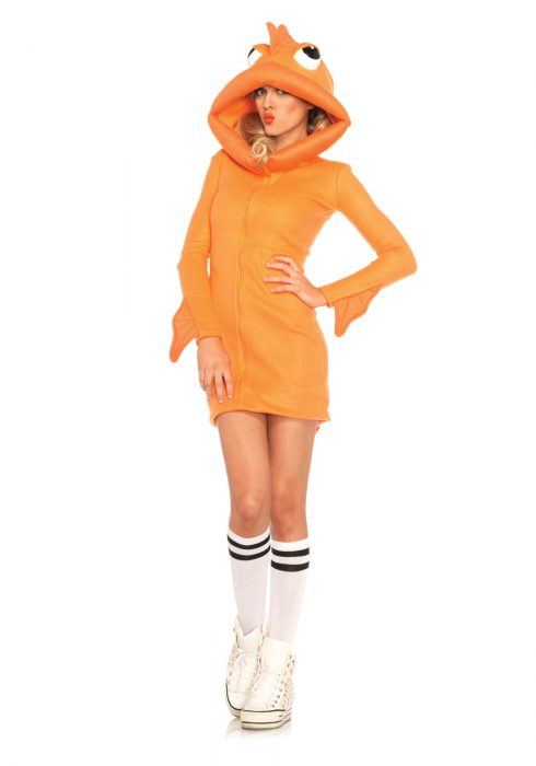 Women's Cozy Goldfish Costume