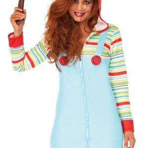 Women's Cozy Killer Doll Costume