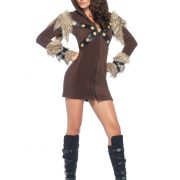 Women's Cozy Viking Costume