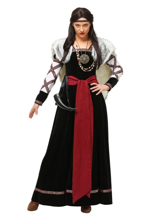 Women's Dark Viking Dress
