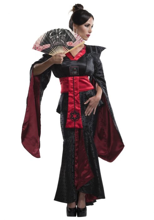 Women's Darth Vader Feudal Kimono
