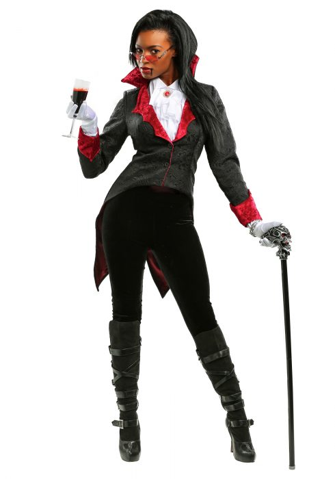 Women's Dashing Vampiress Costume