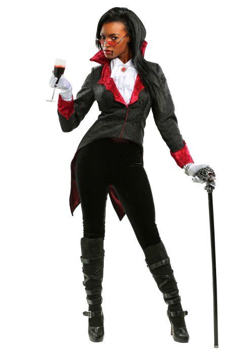 Women's Dashing Vampiress Costume