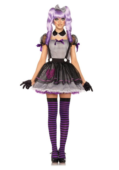 Women's Dead Eye Dolly Costume