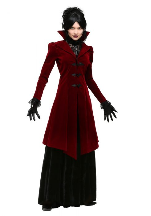 Women's Delightfully Dreadful Vampiress Costume