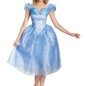 Women's Deluxe Cinderella Movie Costume