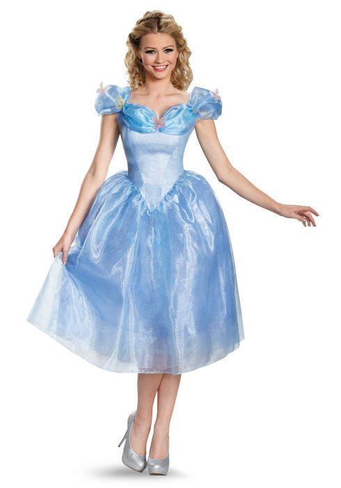 Women's Deluxe Cinderella Movie Costume