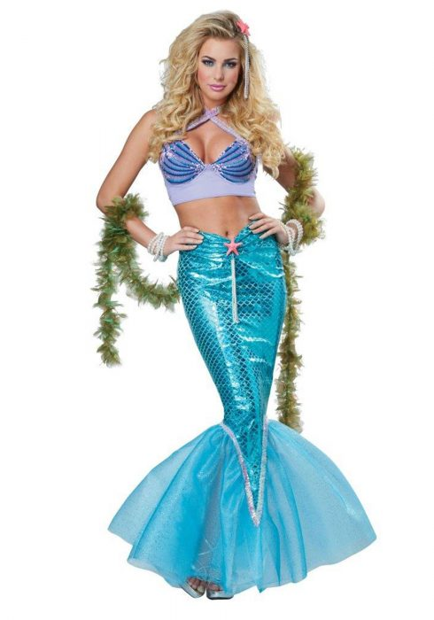 Women's Deluxe Mermaid Costume