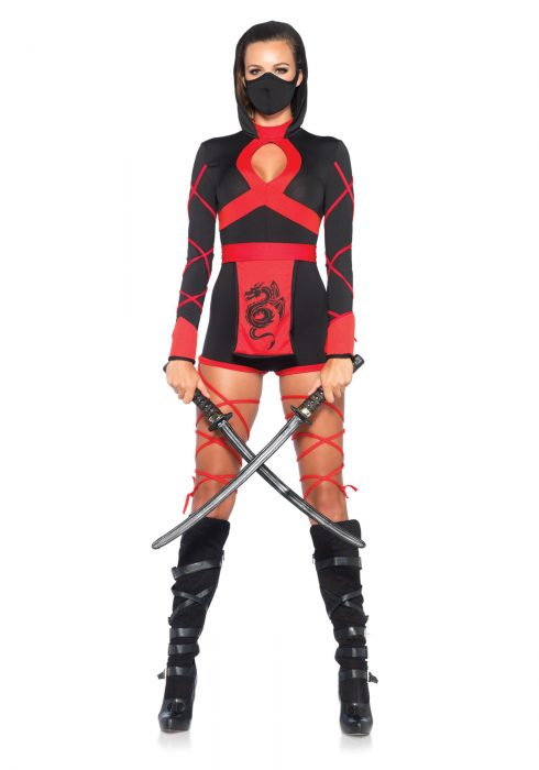 Women's Dragon Ninja Costume