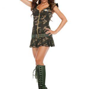 Women's Dreamy Sergeant Costume
