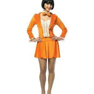 Women's Dumb Dumber Costume Lloyd Orange Tuxedo