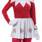 Women's Elf on the Shelf Costume Dress