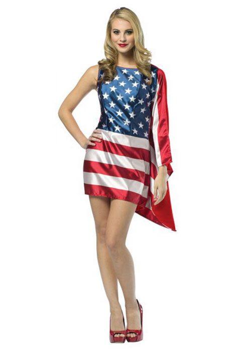 Women's Flag Dress