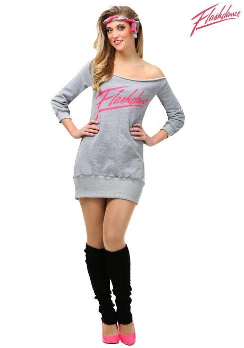 Women's Flashdance Costume