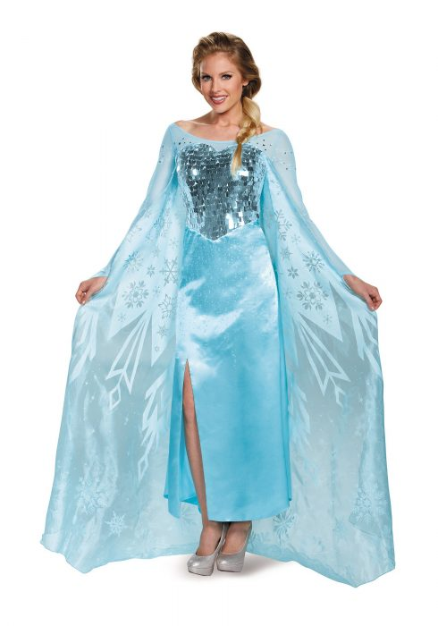 Womens Frozen Elsa Ultra Prestige Costume