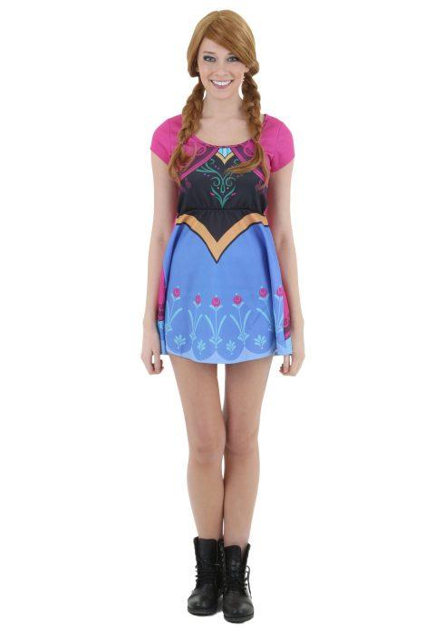 Womens Frozen I Am Anna Skater Dress