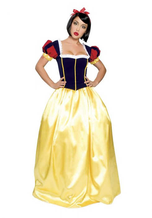 Women's Full Length Snow White Costume
