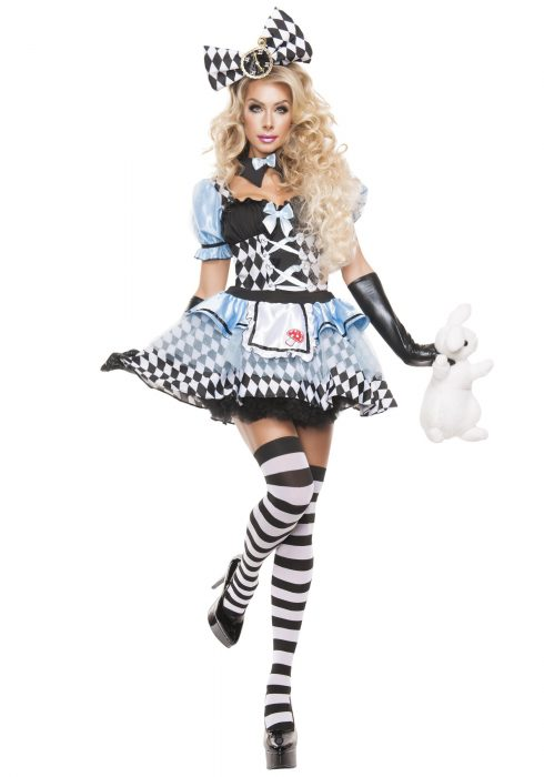 Women's Glam Alice Costume